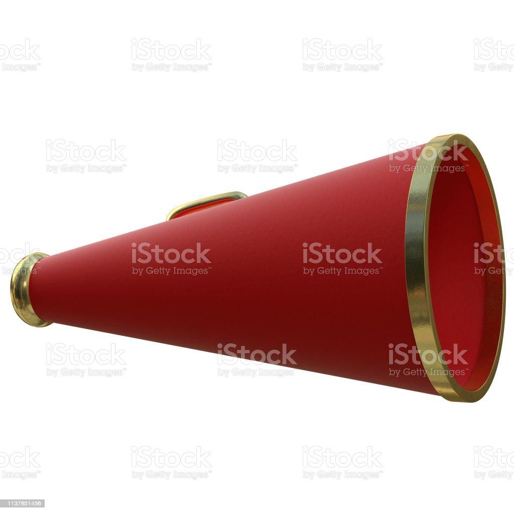 Acoustic megaphone 1 - foto stock