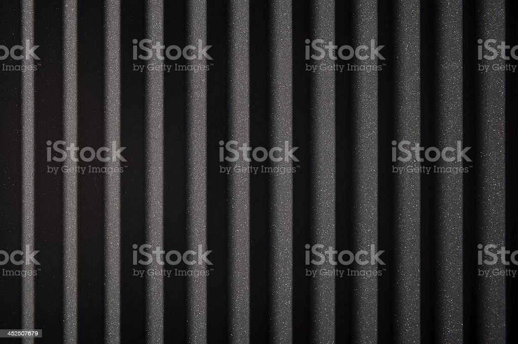 Acoustic Studio Foam stock photo