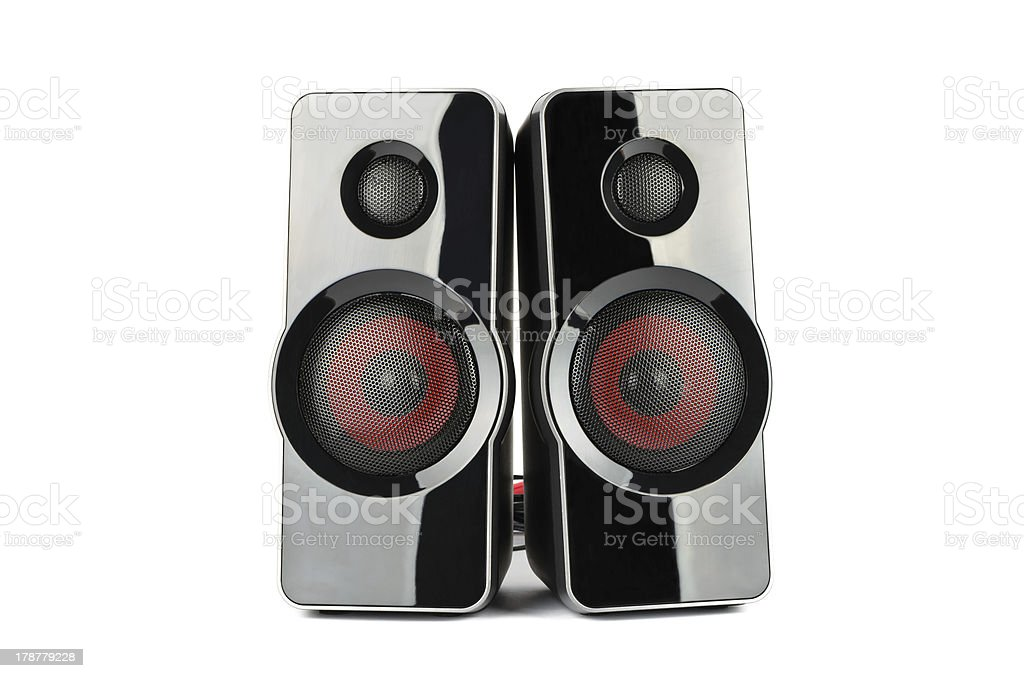 Acoustic system royalty-free stock photo