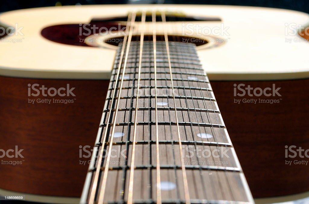 acoustic twelve strings guitar royalty-free stock photo