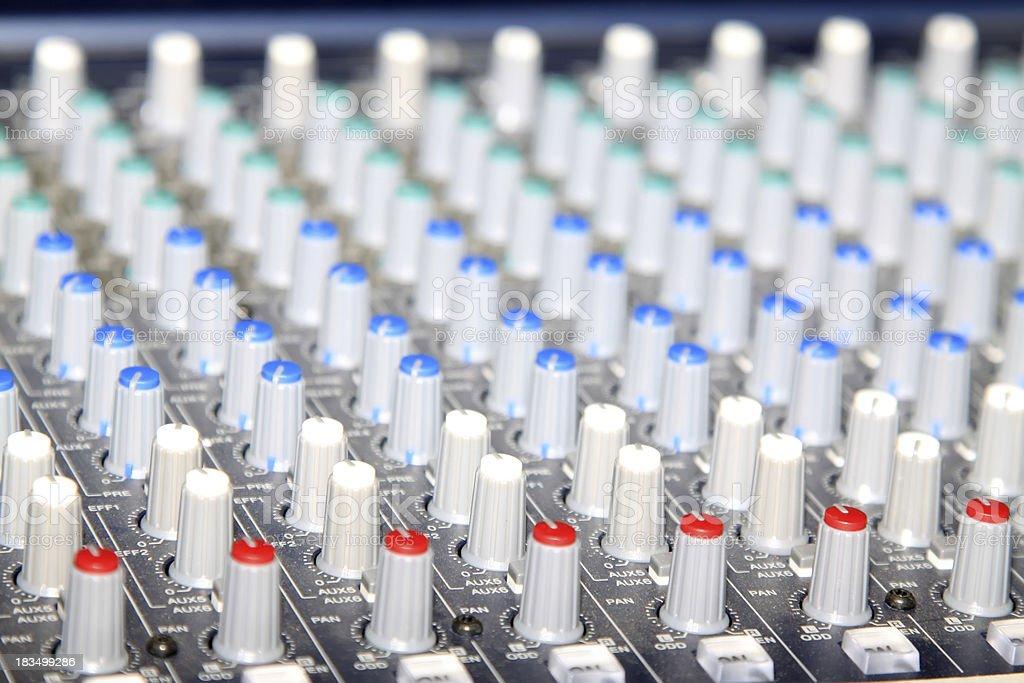 acoustics knob royalty-free stock photo