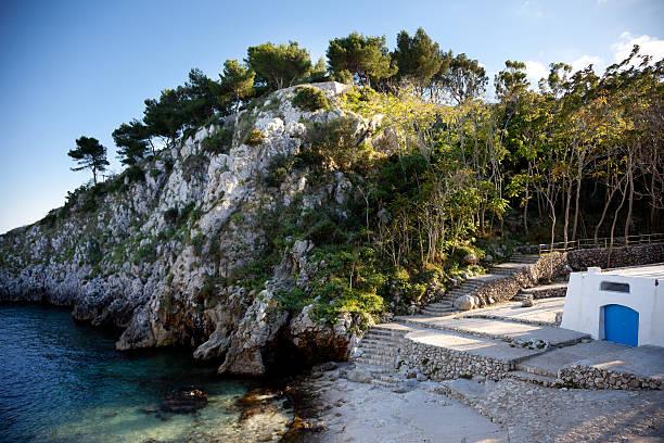 Acquaviva Inlet, Apulia (Italy) stock photo