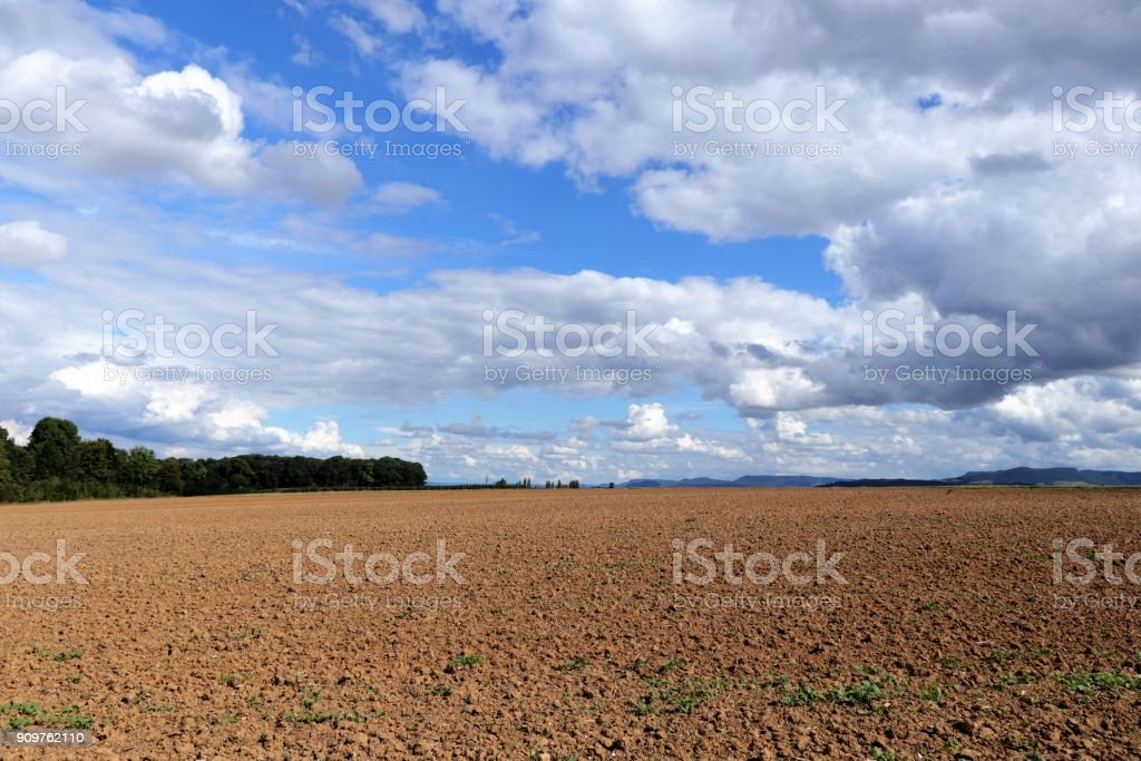 Acre in Germany stock photo