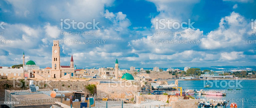 Acre Rooftop View stock photo