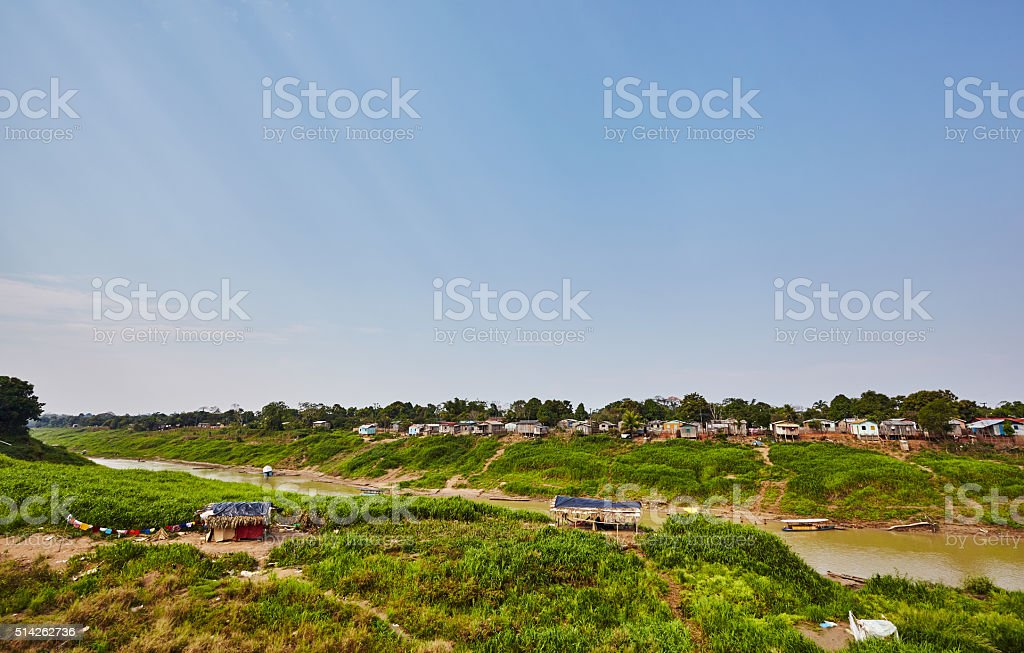 Acre State in Brazil stock photo