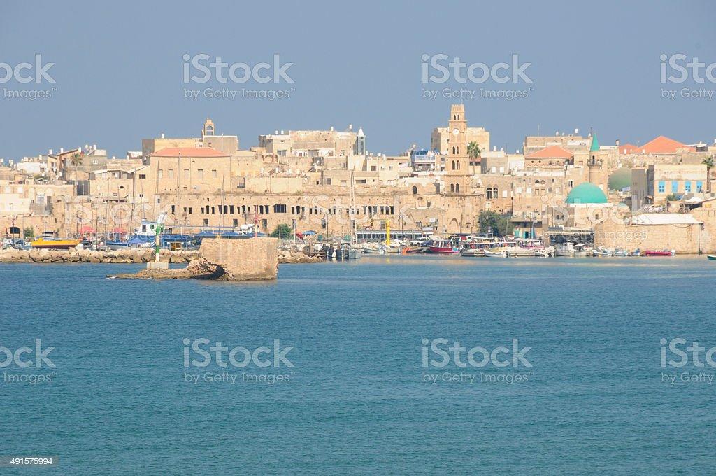 Acre's Harbour stock photo