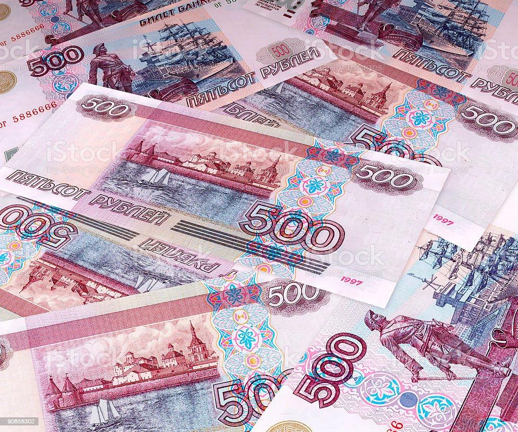 Acres of money royalty-free stock photo