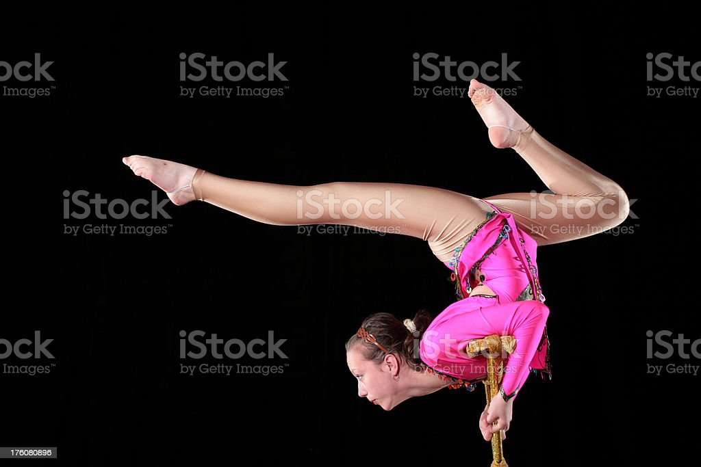 Acrobat royalty-free stock photo