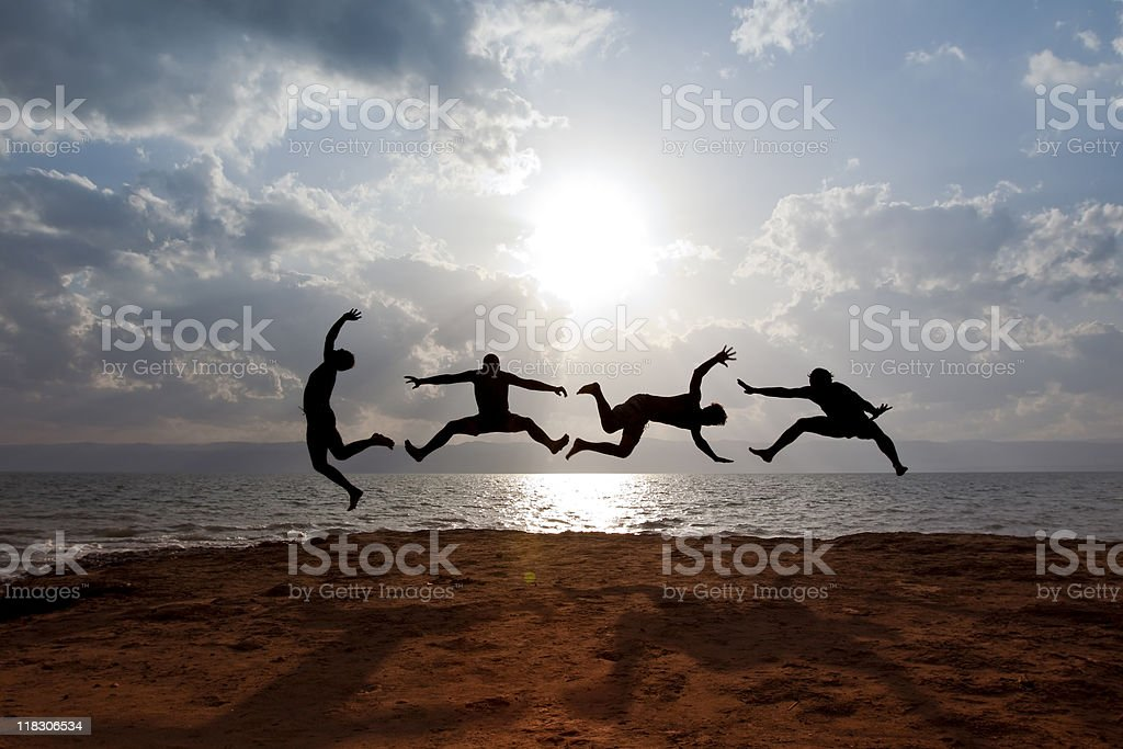 Acrobatic Activity royalty-free stock photo