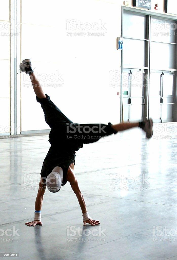 acrobatic breakdancer 3 stock photo