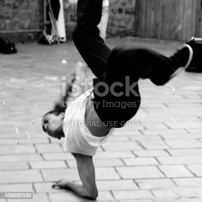istock Acrobatic dancer. 458685535