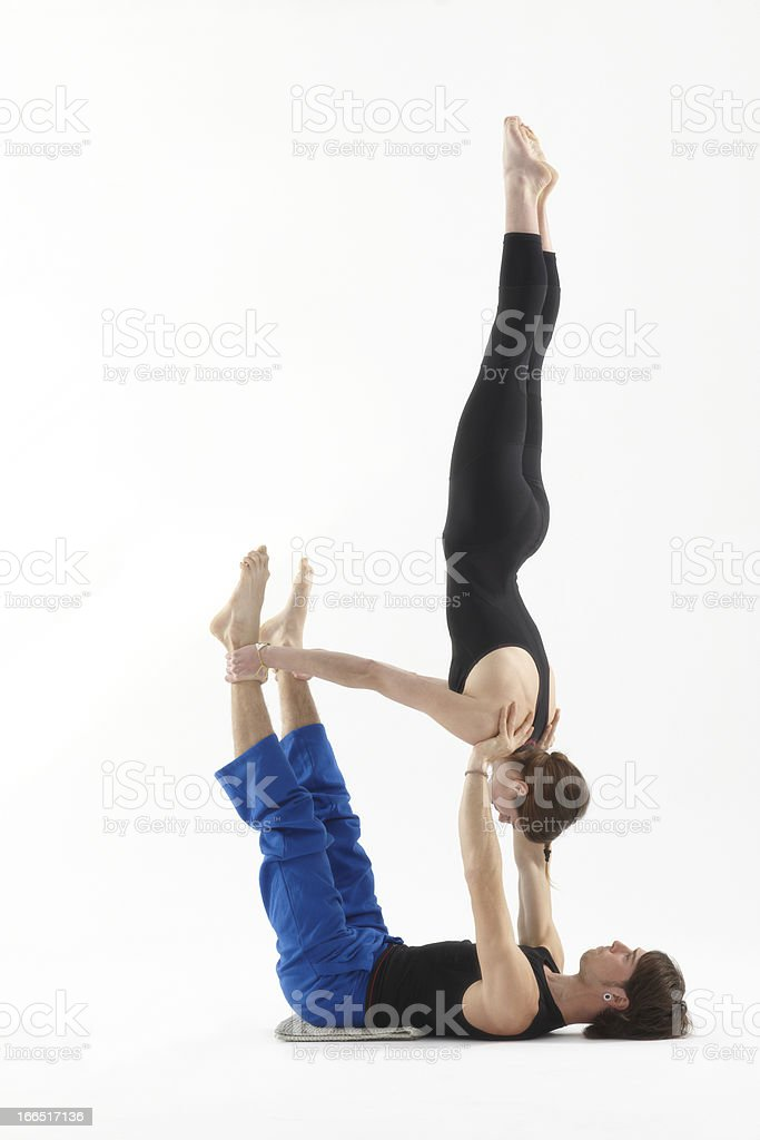 Akrobatik yoga – Foto