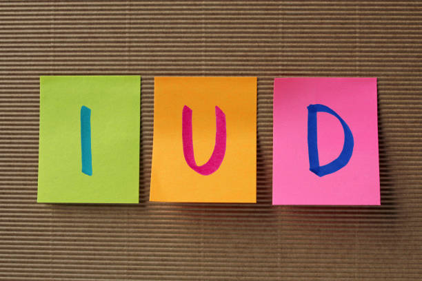 IUD acronym on colorful sticky notes IUD (Intra Uterine Device) acronym on colorful sticky notes iud stock pictures, royalty-free photos & images