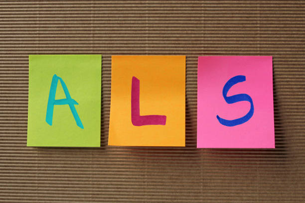 ALS acronym on colorful sticky notes ALS (Amyotrophic Lateral Sclerosis) acronym on colorful sticky notes amyotrophic lateral sclerosis stock pictures, royalty-free photos & images