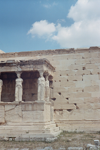 Acropolis, Athens, Greece, June 2021 on 35mm film