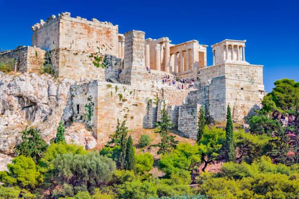Acropolis - Athens, Greece stock photo