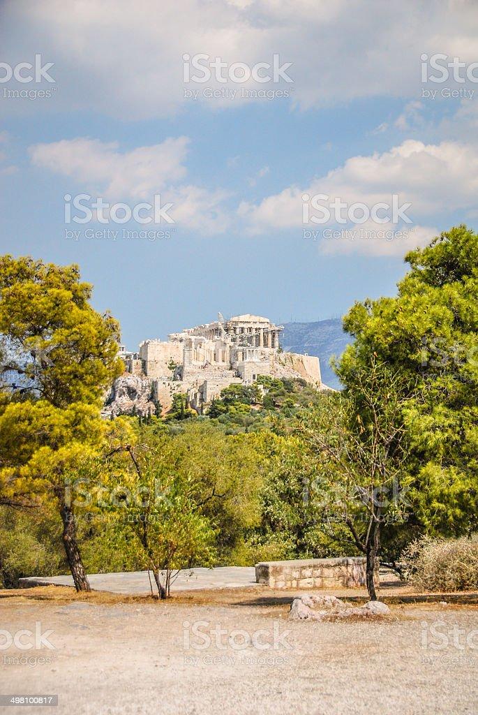 Acropolis - Athens, Greece royalty-free stock photo
