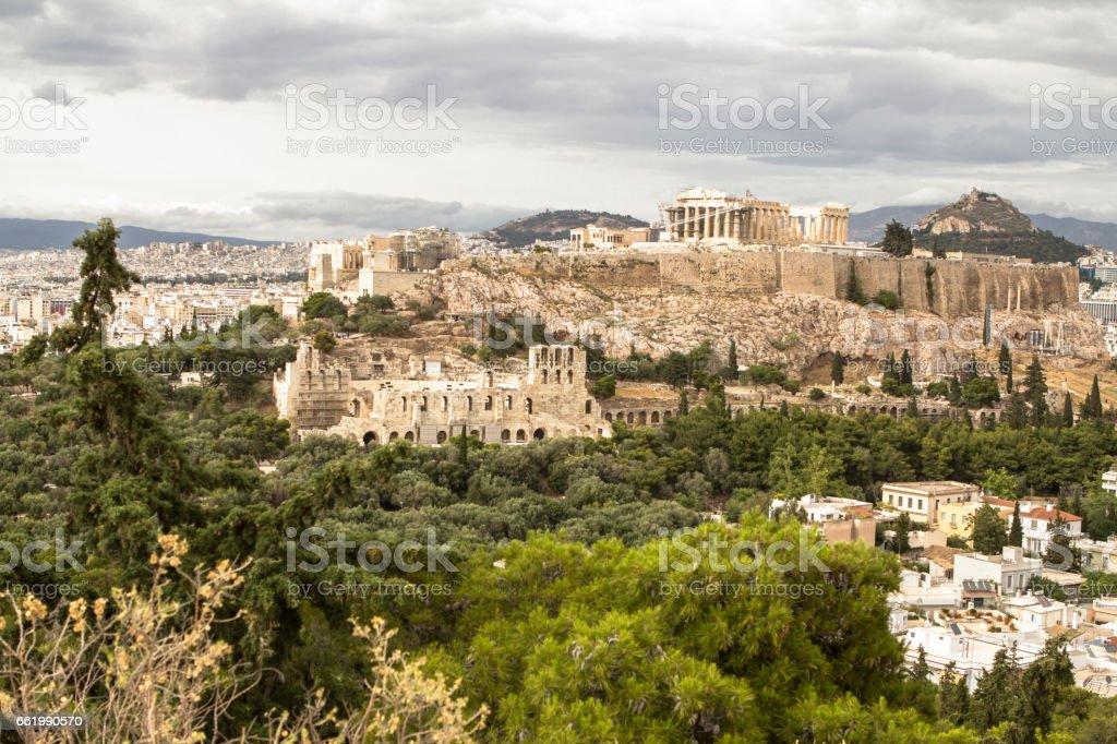 Acropolis, Athens, Greece royalty-free stock photo
