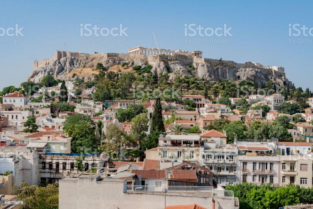 Acropolis Athens Greece stock photo