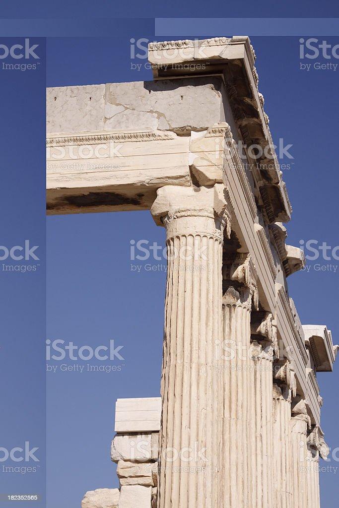 Acropolis Athens royalty-free stock photo