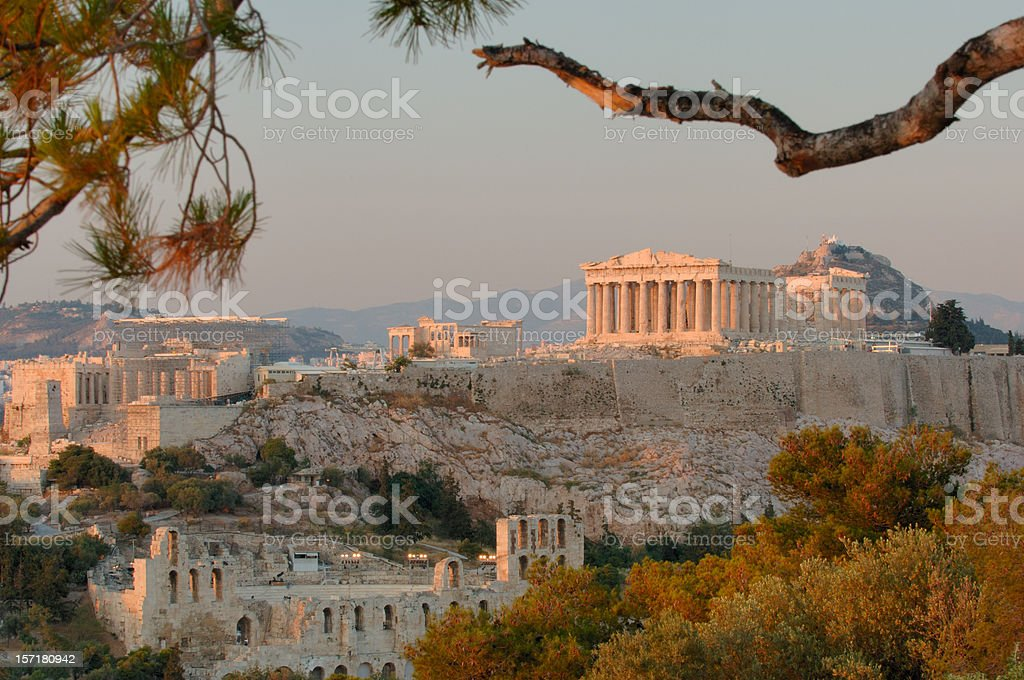 Acropolis II stock photo