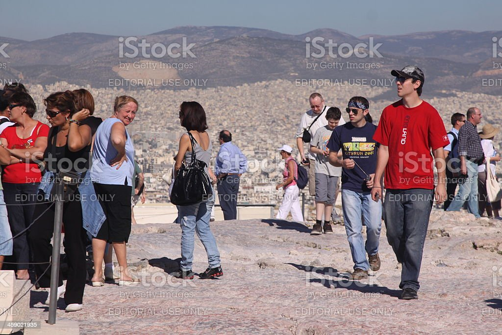 Acropolis in Athens, Greece royalty-free stock photo