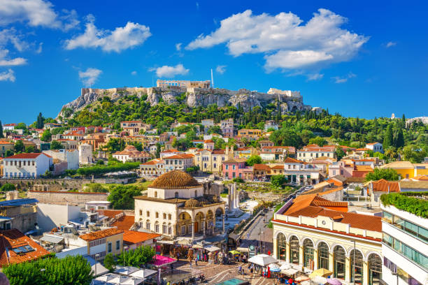 Akropolis in Athen, Griechenland – Foto