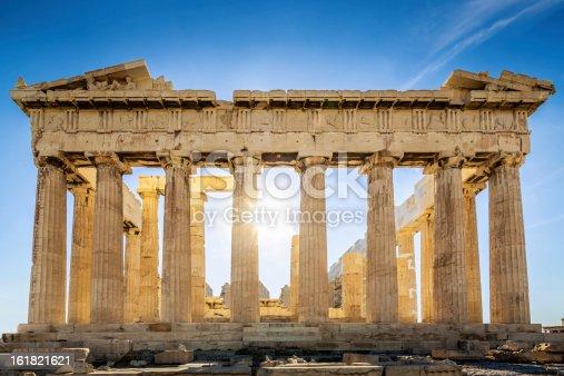 istock Acropolis Parthenon Temple,Athens,Greece 161821621