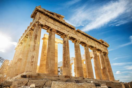 Acropolis Parthenonathensgreece Stock Photo - Download Image Now