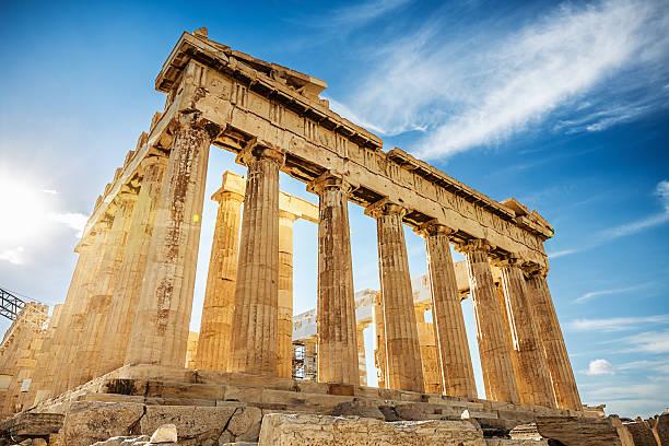 Parthenon auf der Akropolis, Athen, Griechenland – Foto