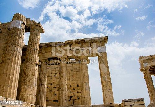 Ancient Pillars of the Acropolis