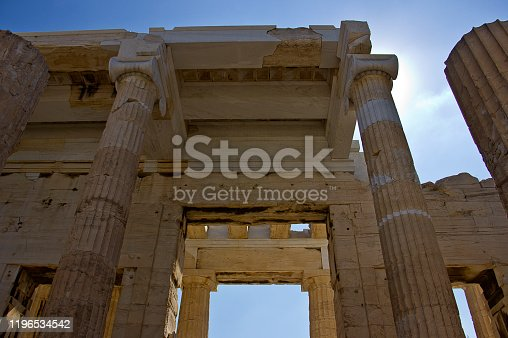 Greek Monument on the Acropolis