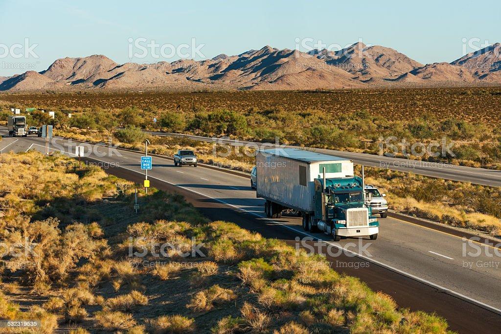 Across America stock photo