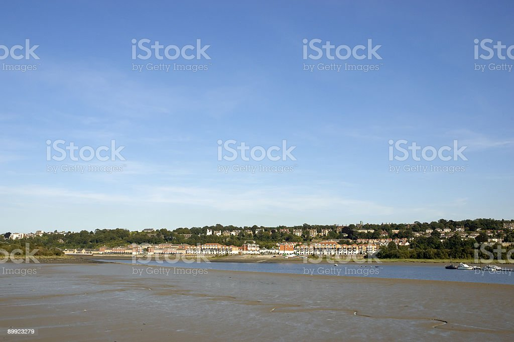 Across the river royalty-free stock photo