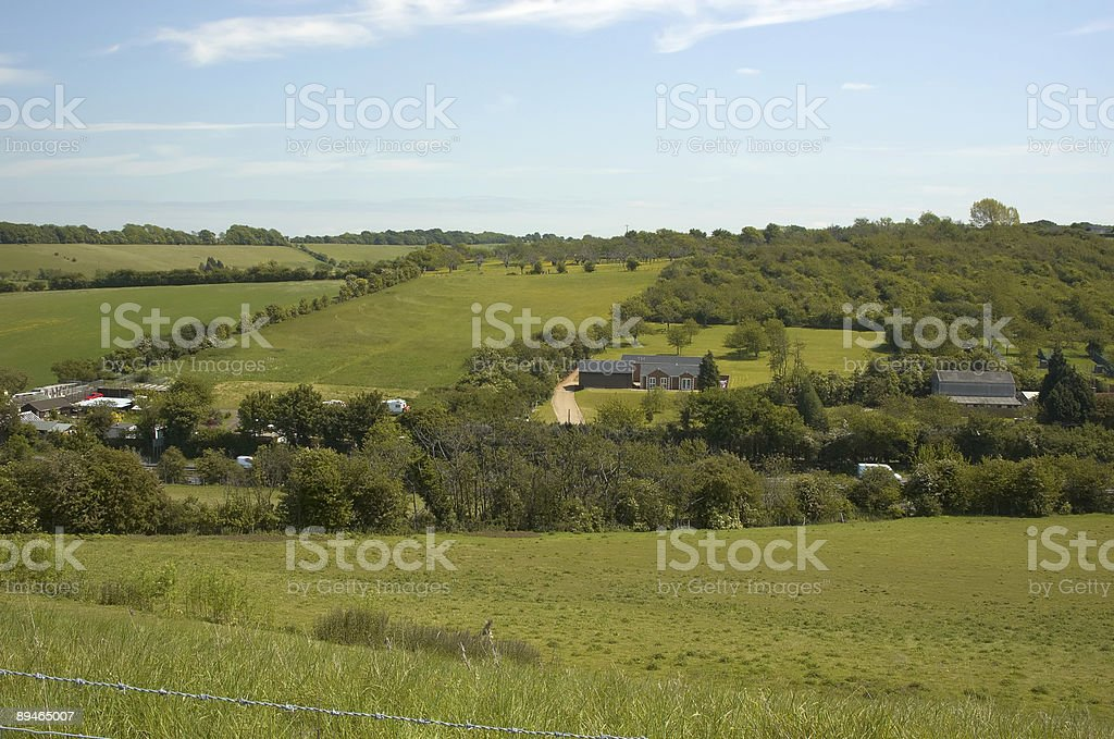 Across the valley royalty-free stock photo