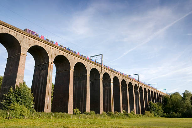 Across the Viaduct stock photo