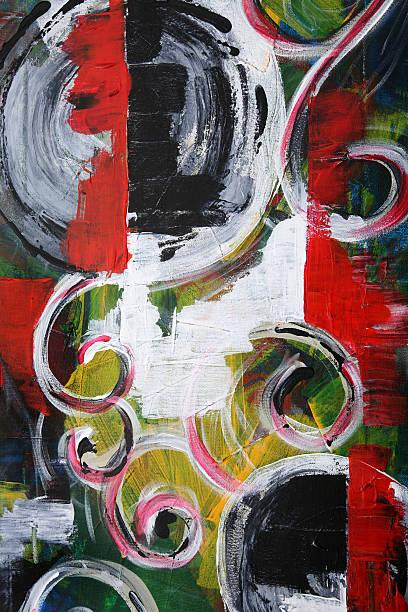 acrylic abstract stock photo