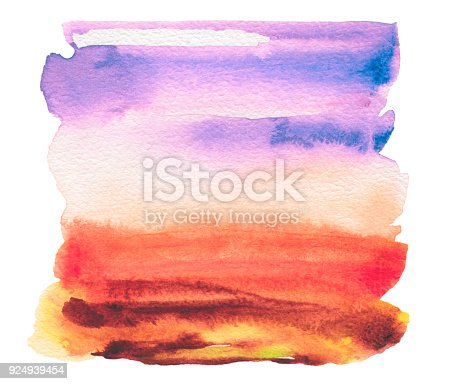 649796262 istock photo Acrylic and watercolor painted frame. Texture paper background. 924939454