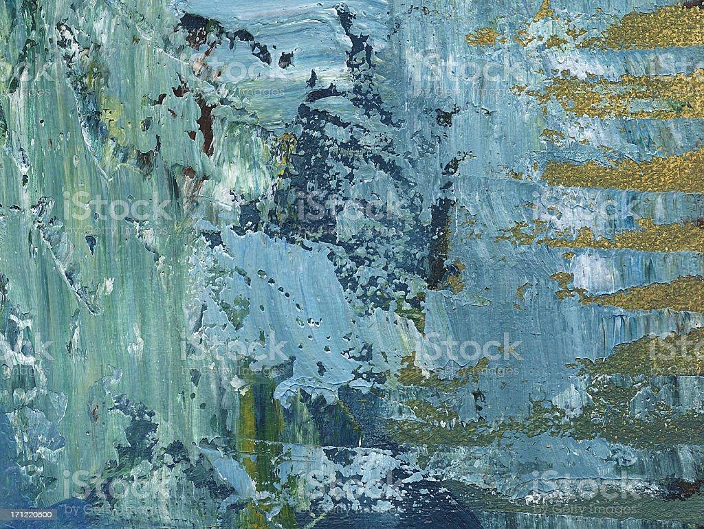 Acrylic on Canvas royalty-free stock photo