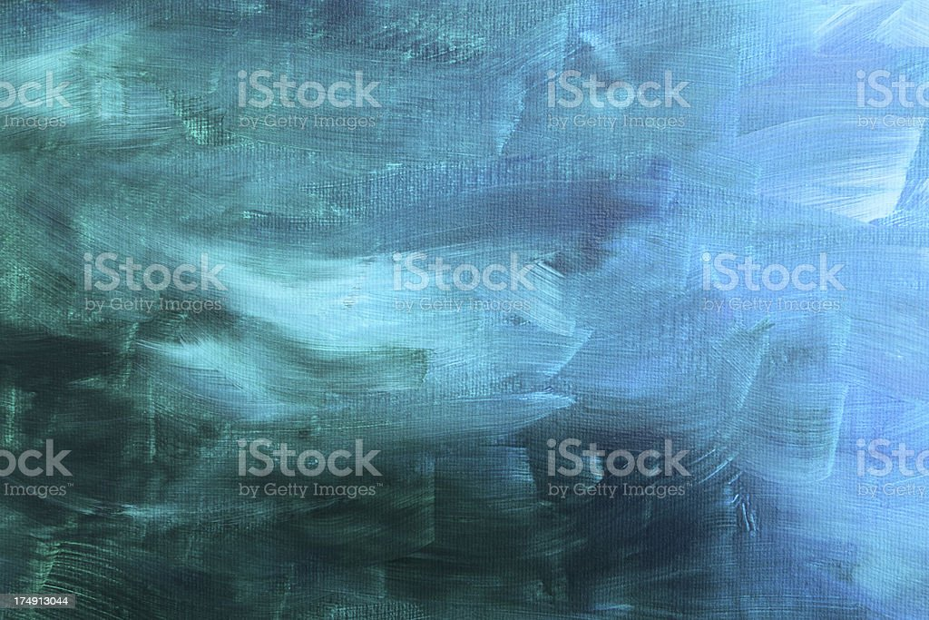 acrylic painted canvas stock photo
