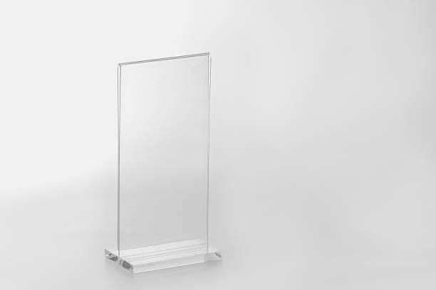 Acrílico la paz para imágenes y retratos, transparente. - foto de stock