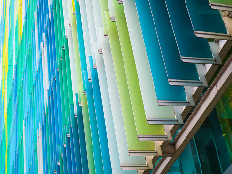 istock acrylic plastic sheet interior slope 60 degree yellow blue aqua 912138982