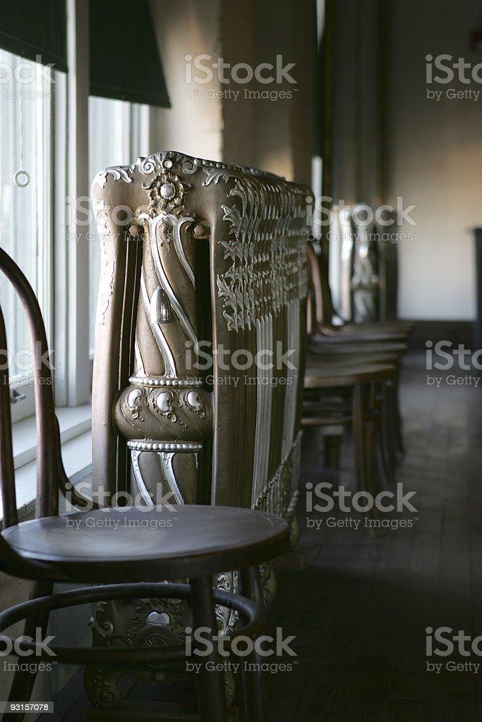 Acting Chairs & Radiator royalty-free stock photo