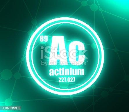 🔥 Vector - Actinium Atom