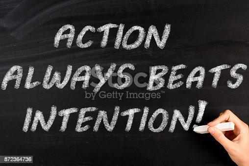 istock Action Always Beats Intention 872364736