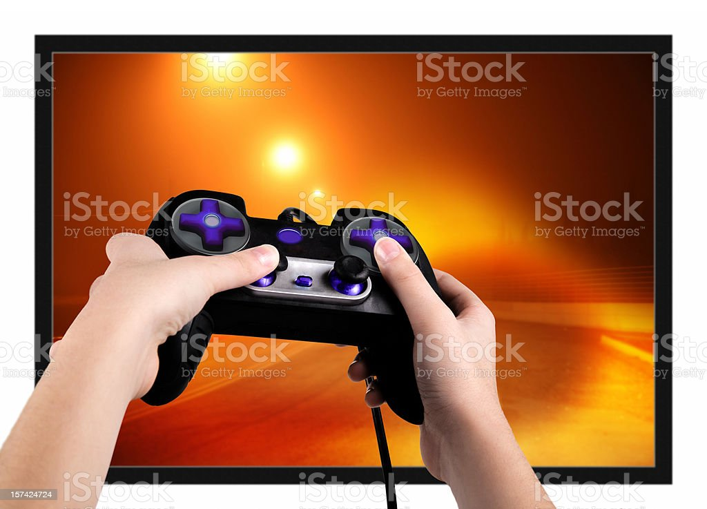 Action game royalty-free stock photo