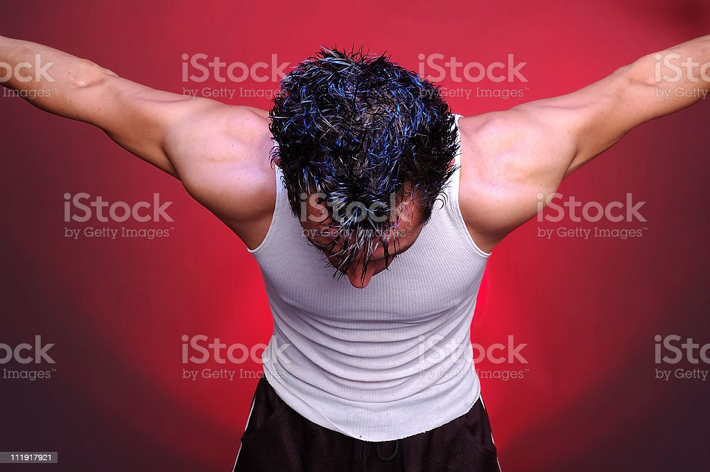 Action Man 5 royalty-free stock photo