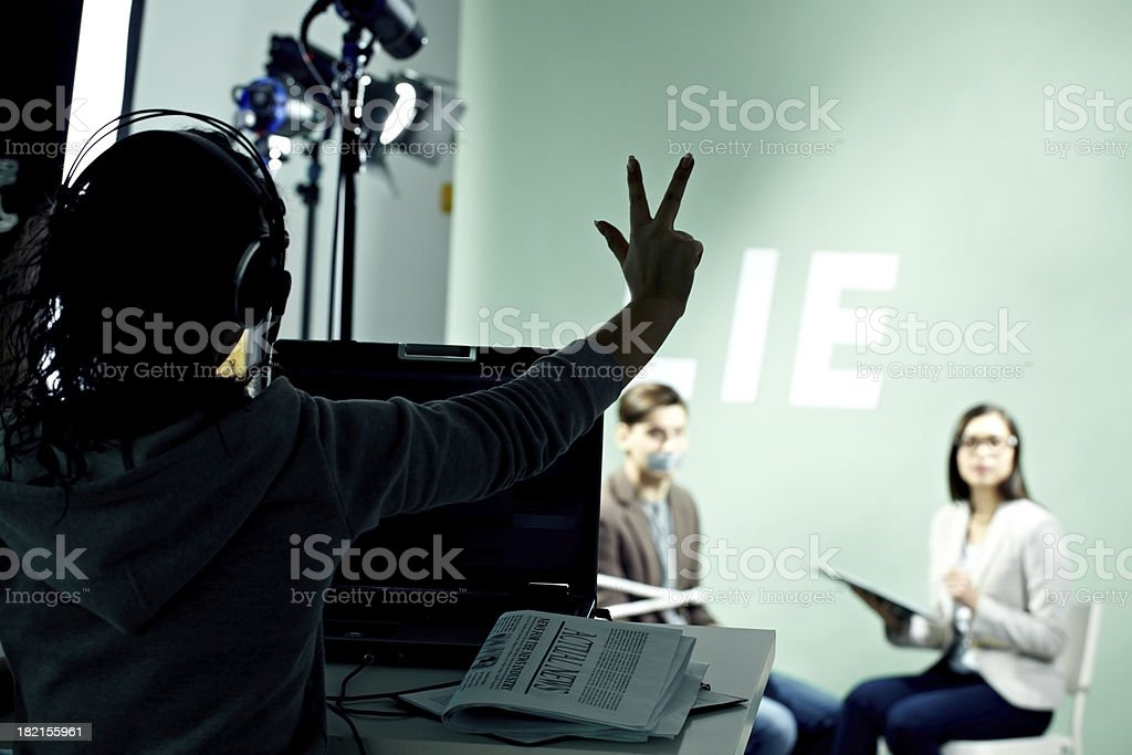 Action! royalty-free stock photo