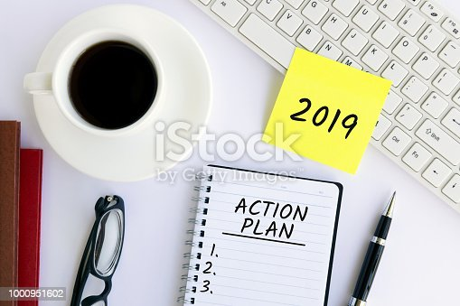1186985932 istock photo Action Plan 2019 1000951602