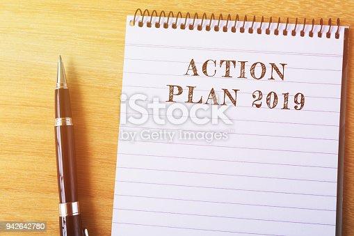 istock Action Plan 2019 942642780
